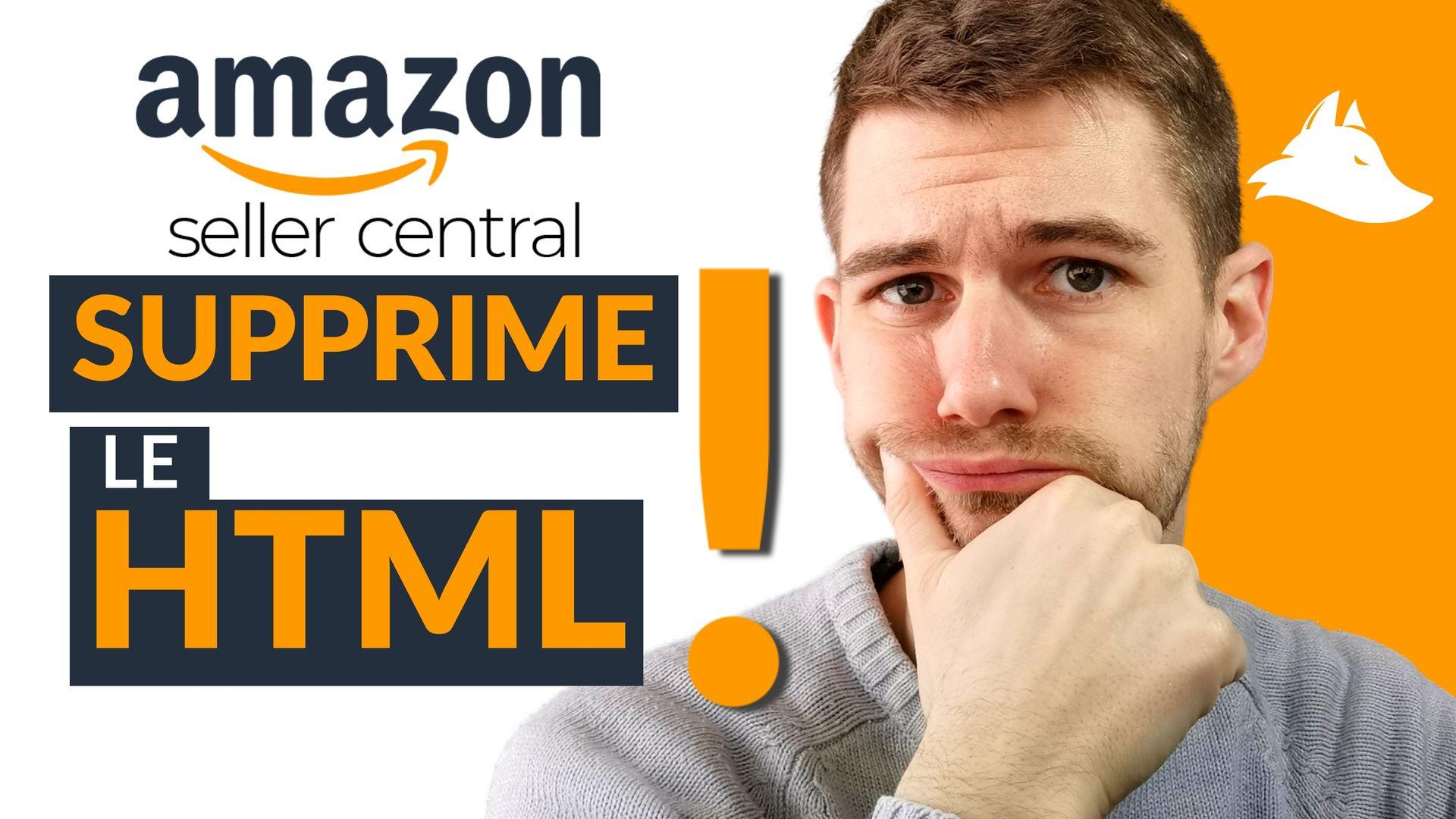 Amazon supprime les balises HTML pour la description des fiches produits !