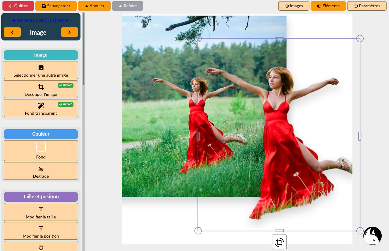 Intellifox- Éditeur d'images