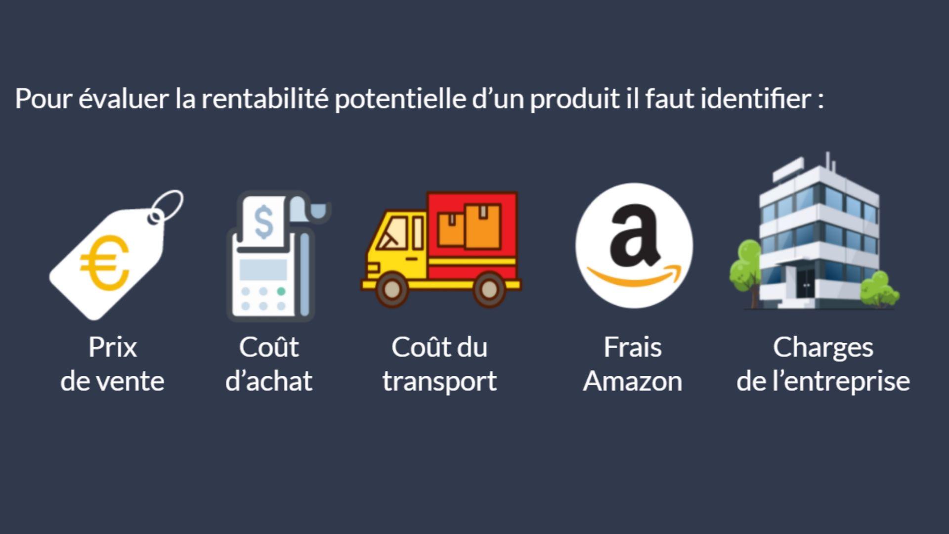 Les différents coûts à prendre en compte sur Amazon