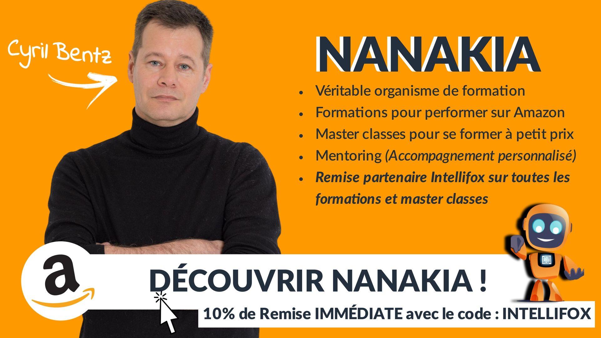 Formations Nanakia Cyril Bentz
